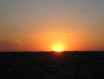 夕陽・朝陽を見る