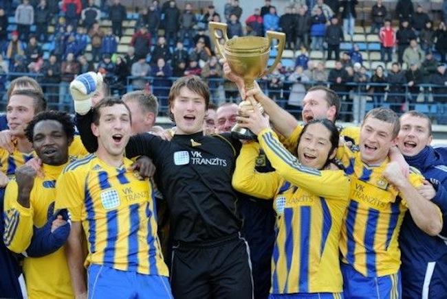 ラトビアサッカー