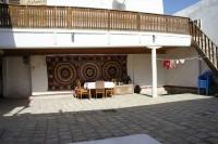 サラフォンB&B 中庭1