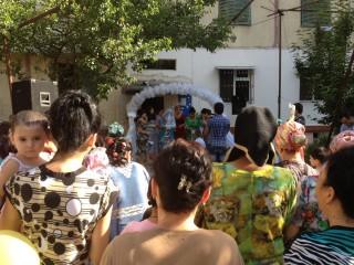 ウズベキスタン結婚式