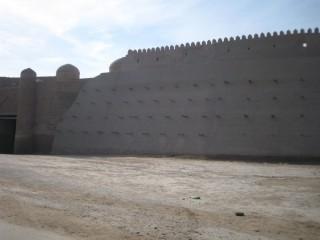 城壁が削られて広場になっていた…(@_@)